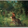 larsson-carl-little-red-riding-hood-and-the-wolf-in-the-forest