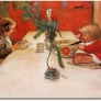 scandinavian-carl-larsson-childrens-evening-meal