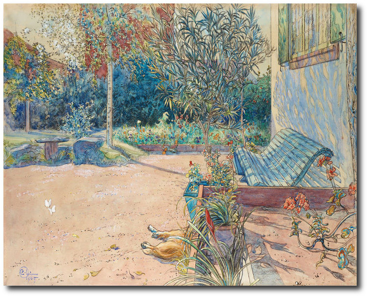 larsson-carl-my-courtyard-canvas
