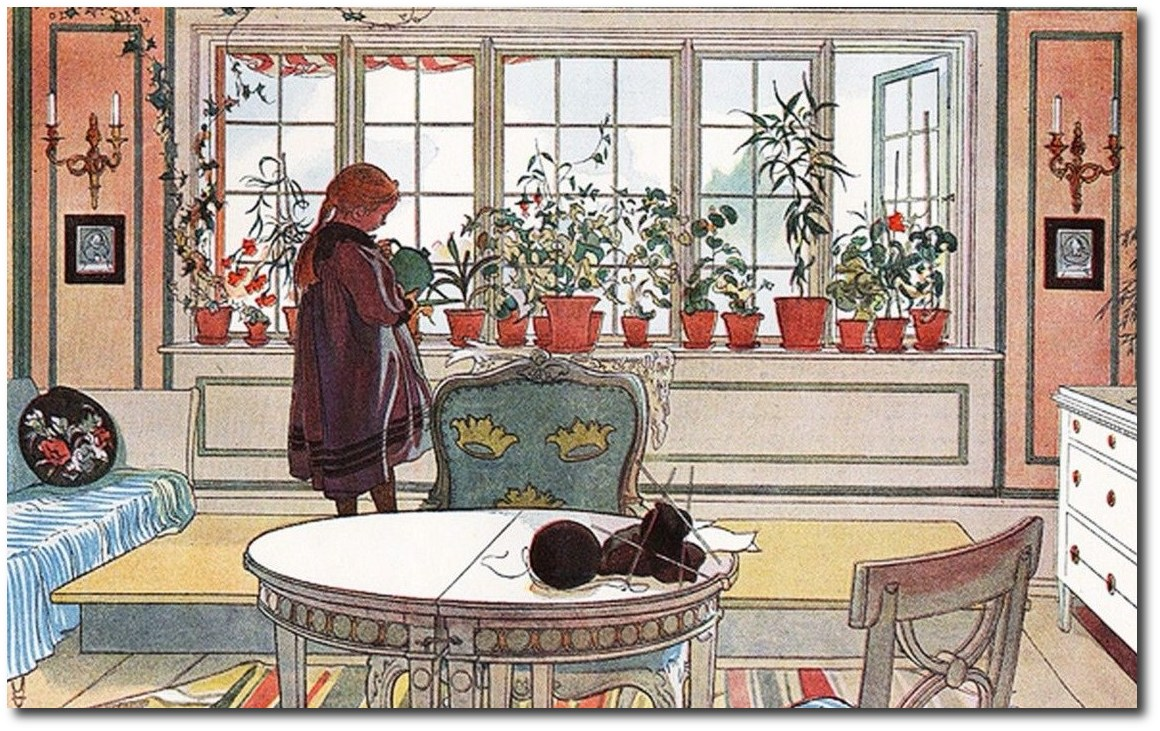 scandinavian-artist-carl-larsson-the-garden-window
