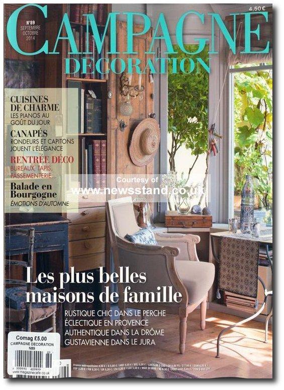 campagne decoration 7 - Decorating Magazines