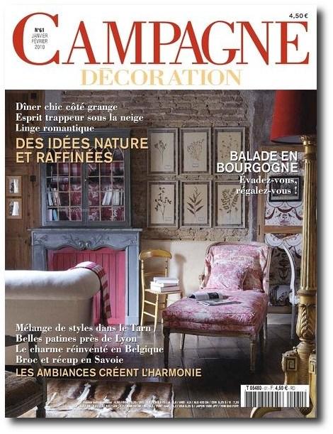 campagne decoration 8 - Decorating Magazines