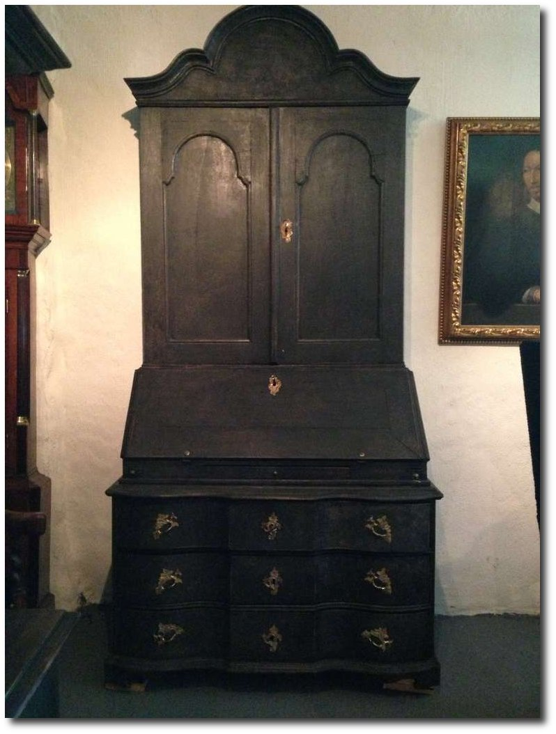 black-painted-baroque-swedish-secretary-laserow-antiques
