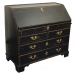 18thc-george-iii-black-painted-secretary-chest-of-drawers-southall-1st-dibs