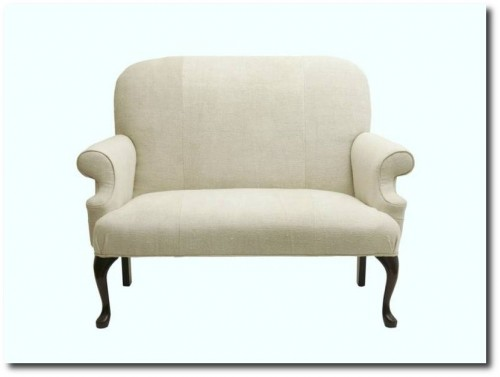 Antique-linen-upholstery-Couch