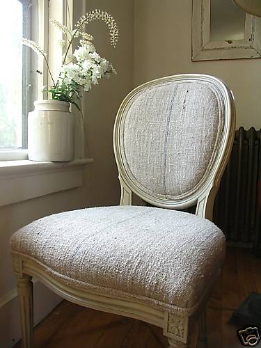 Hemp Linen Organic Fabric Upholstery Flour Sack