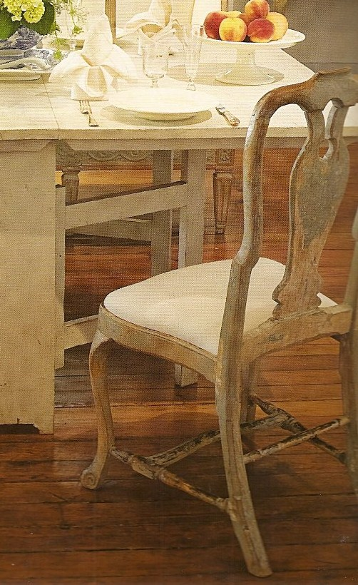 & Close Up On The Swedish Chair