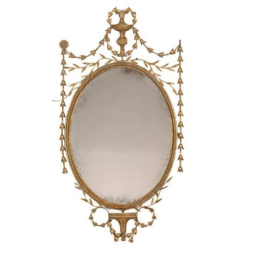 Neoclassocal decorating robert adam styled mirror for Adam style mirror