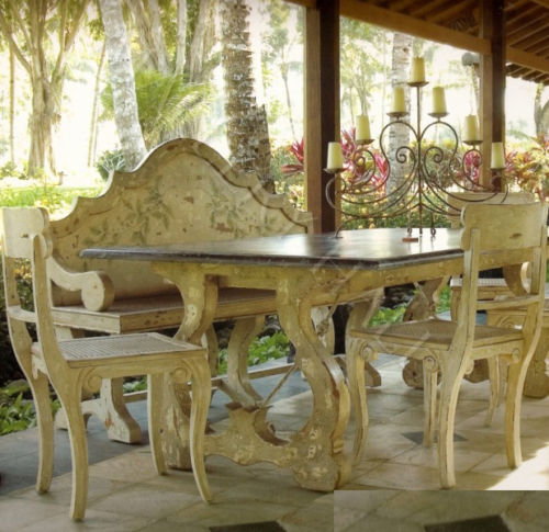 country dining table plans