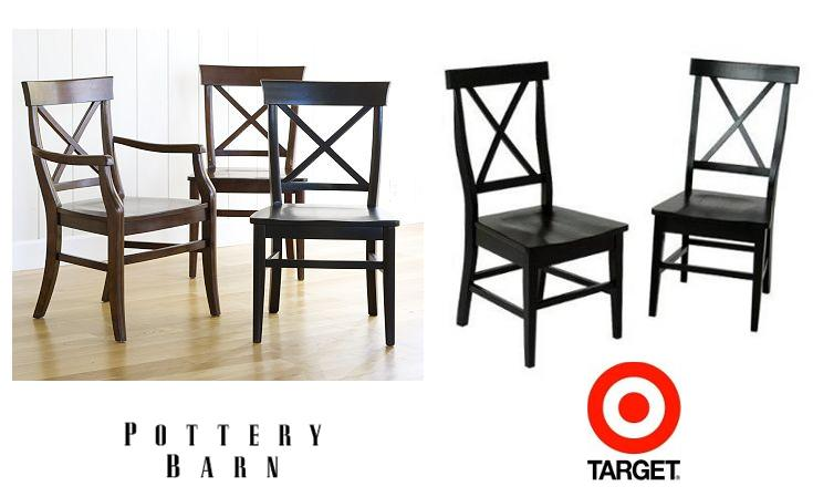 Beautiful Swedish Furniture U0026 Decor Ideas  Classic X Chairs  Pottery Barn Aaron Chair  And Target American Simplicity X Back Side Chair