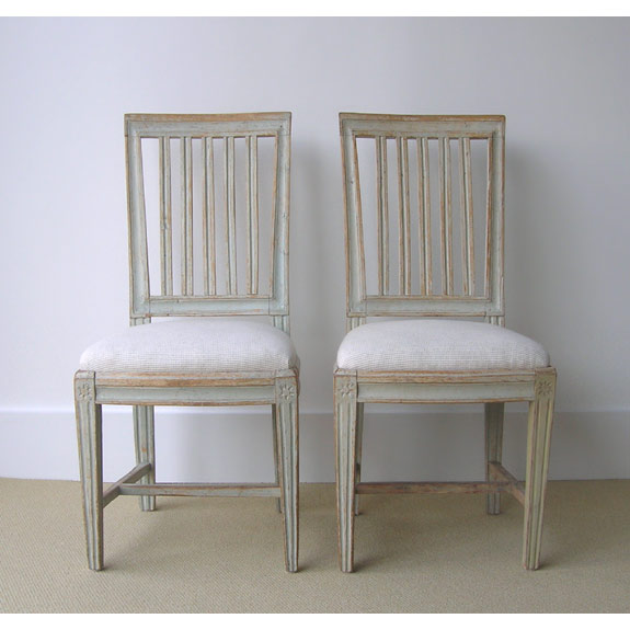 Swedish Furniture swedish furniture & decorating - swedish gustavian period chairs