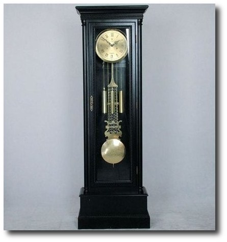 The-Madison-Black-Grandfather-Clock-2