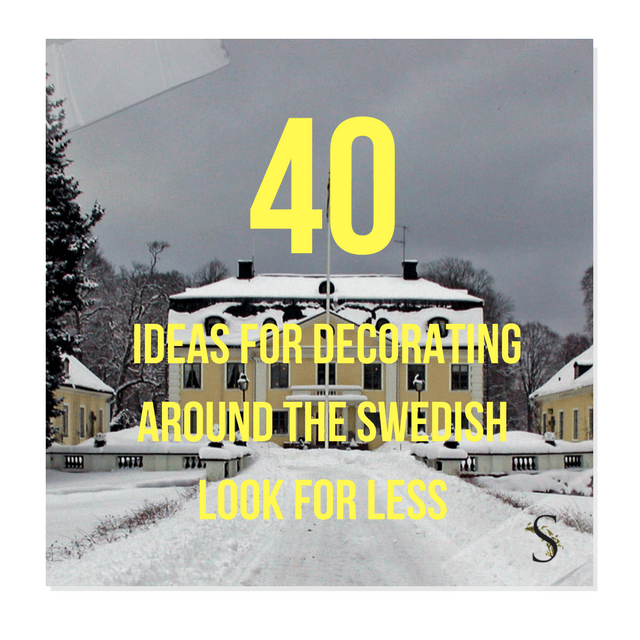 40+ Ideas For Decorating Around The Swedish Look For Less