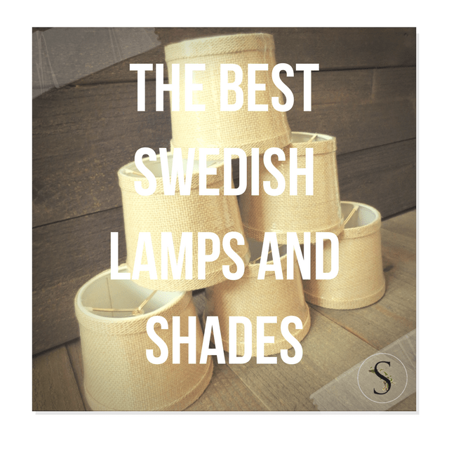 The Best Swedish Lamps And Shades