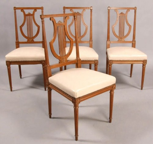 JANSEN DIRECTOIRE LOUIS XVI DINING CHAIRS 5792 500x470 Directoire Furniture