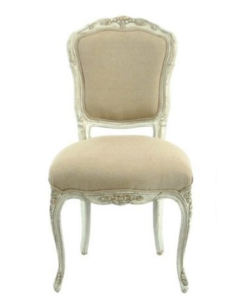 Linen Chair White Weathered Antique French Style Chair Set From ...