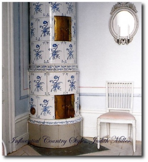 Country Gustavian Interior Decorating