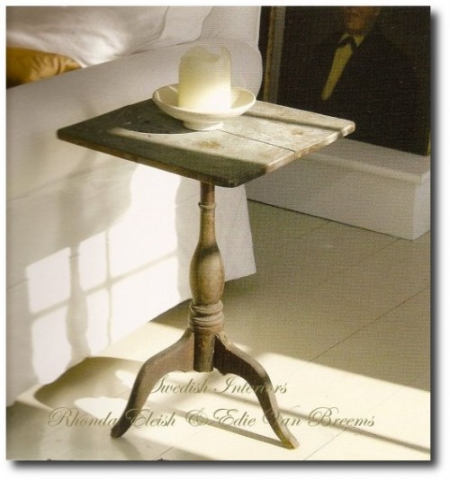 Martina-Arfwidson-and-David-Weisss-Swedish-Painted-tilt-top-candle-stand-500x537
