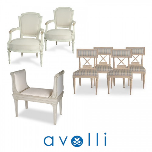 Swedish Gustavian Antiques From Avolli Antiques