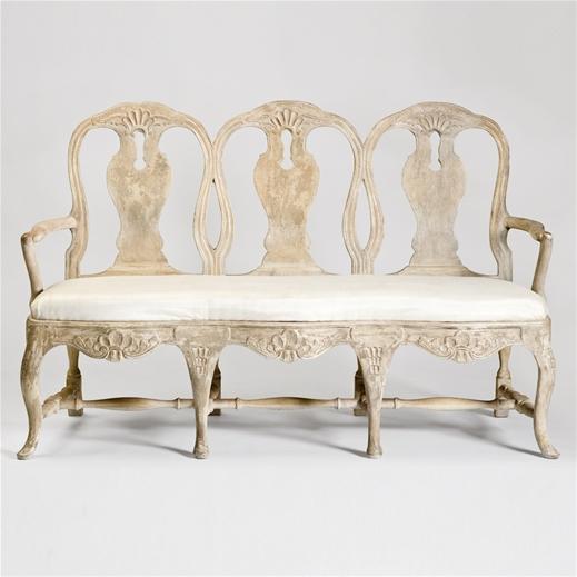 Tara Shaw Maison Swedish Rococo Bench