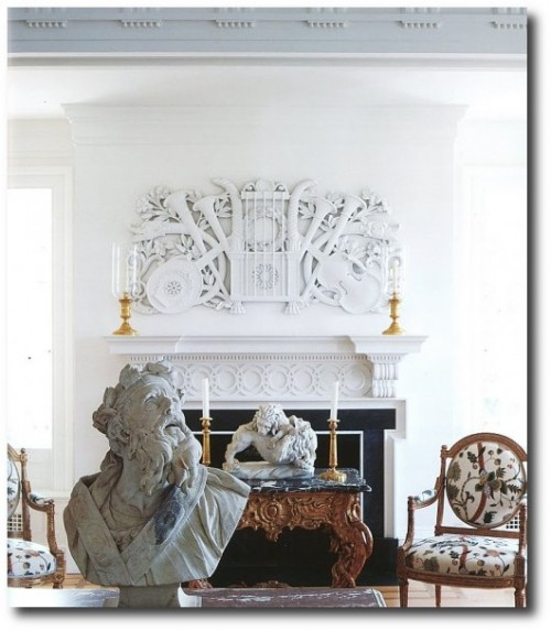 Neoclassical Decorating – The great room at Weatherstone