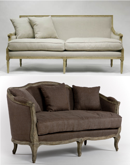 Stickley Coffee Table Images French Country Coffee Table  : French Louis XV and XVI Sofas1 from www.favefaves.com size 500 x 634 png 272kB