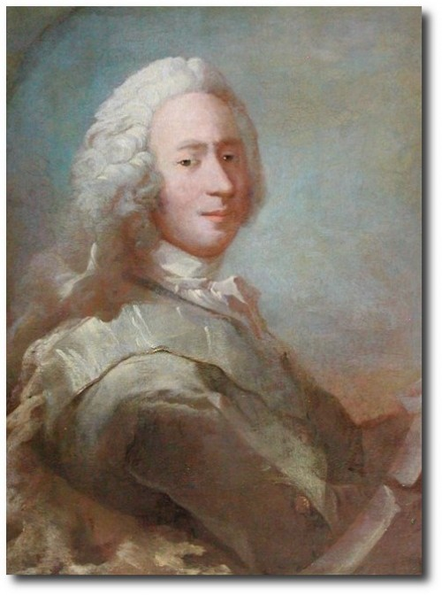 18th Century Swedish Art- Adam Gottlob Moltke by Carl Gustav Pilo