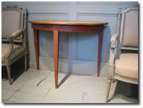 19th Cent Swedish Console table Brownrigg Interiors