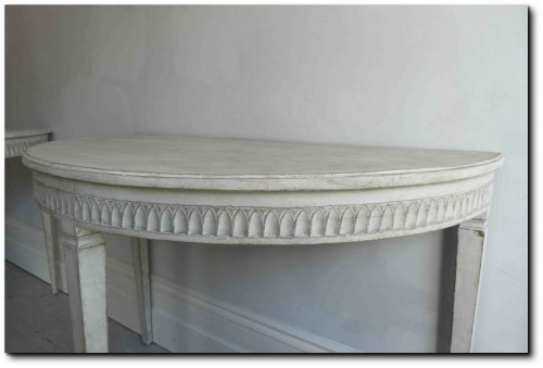 Console Tables Gustavian Seen At Georgia Lacey