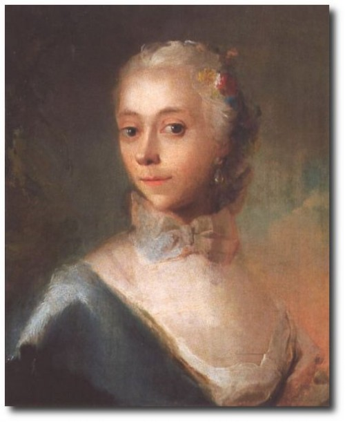 Swedish 18th Century Art -Portrait of a Lady
