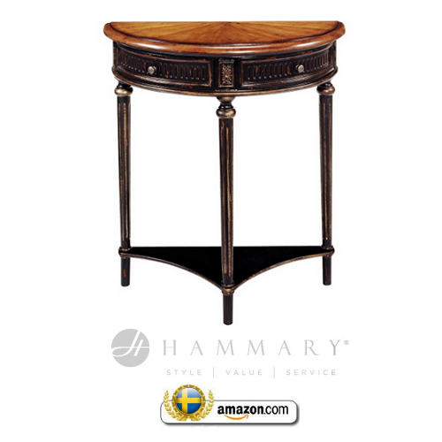 Hammary T73054 00 Hidden Treasures Console Table Swedish Furniture:18th Century Swedish Decorating