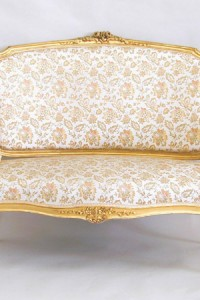 Louis XV Suite 19th Century Rococo Settee and 4 Armchairs Gilded Ranavalona From Bluelotus ebay