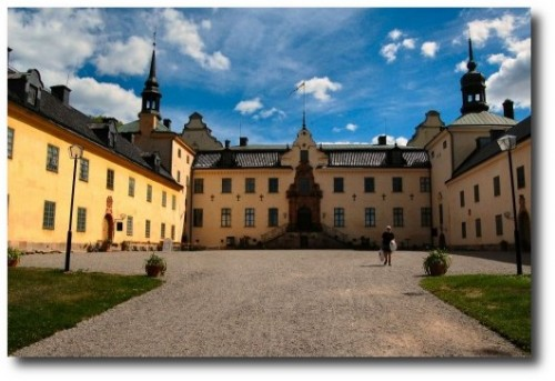 Tyreso castle outside Stockholm Sweden