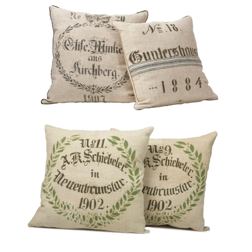 Dan Marty Grainsack Pillows