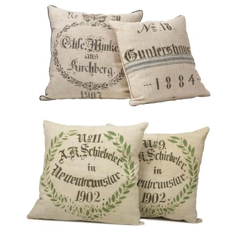 Dan Marty Grainsack Pillows