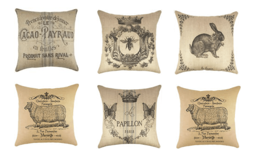 French Pillows From Overstock On Ebay. Grainsack ...