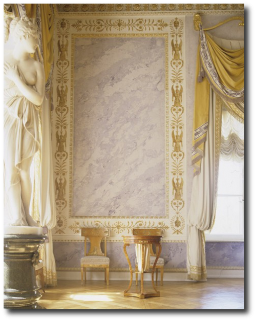 Faux Marble Painting Technique Walls