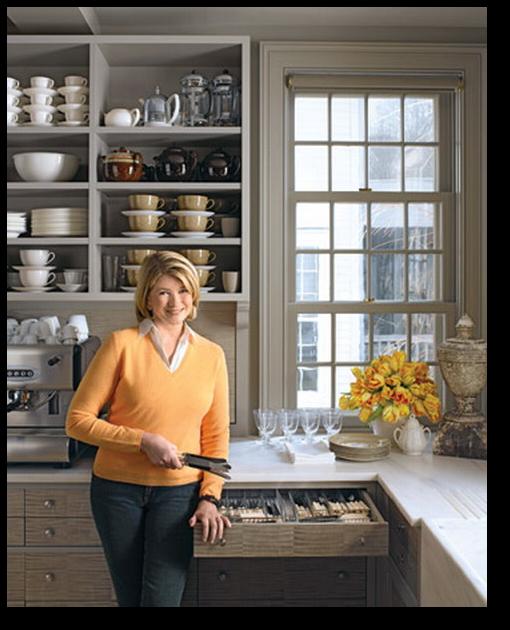 Martha Stewart Paint Ideas Kitchen: Martha's Gray Kitchen
