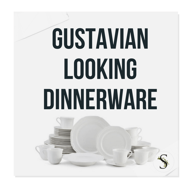 sc 1 st  Swedish Furniture & Gustavian Looking Dinnerware Sets You Can Buy For Less