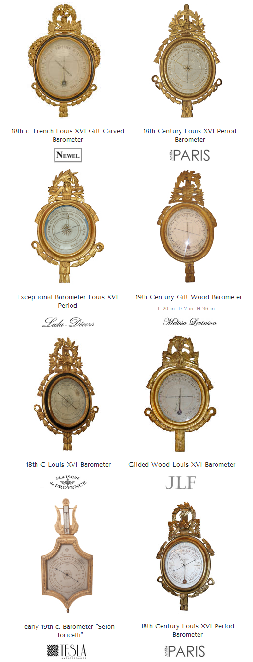 French Barometers