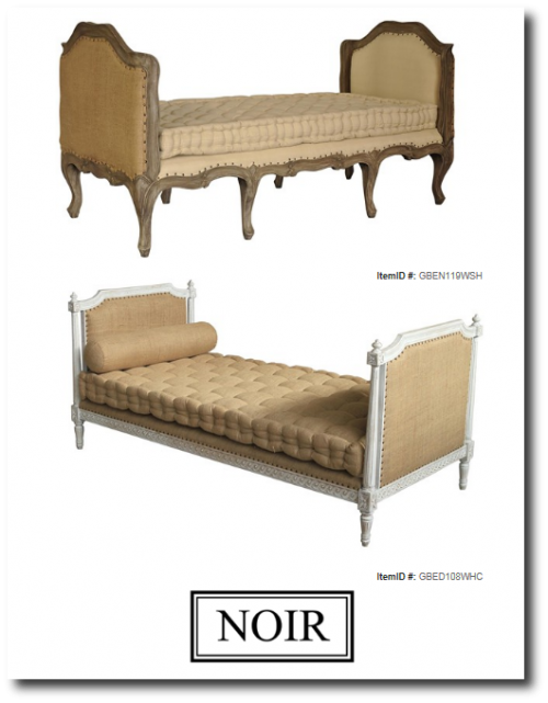 Noir Furniture 500x641 Outstanding Reproduction Gustavian Sofas And ...