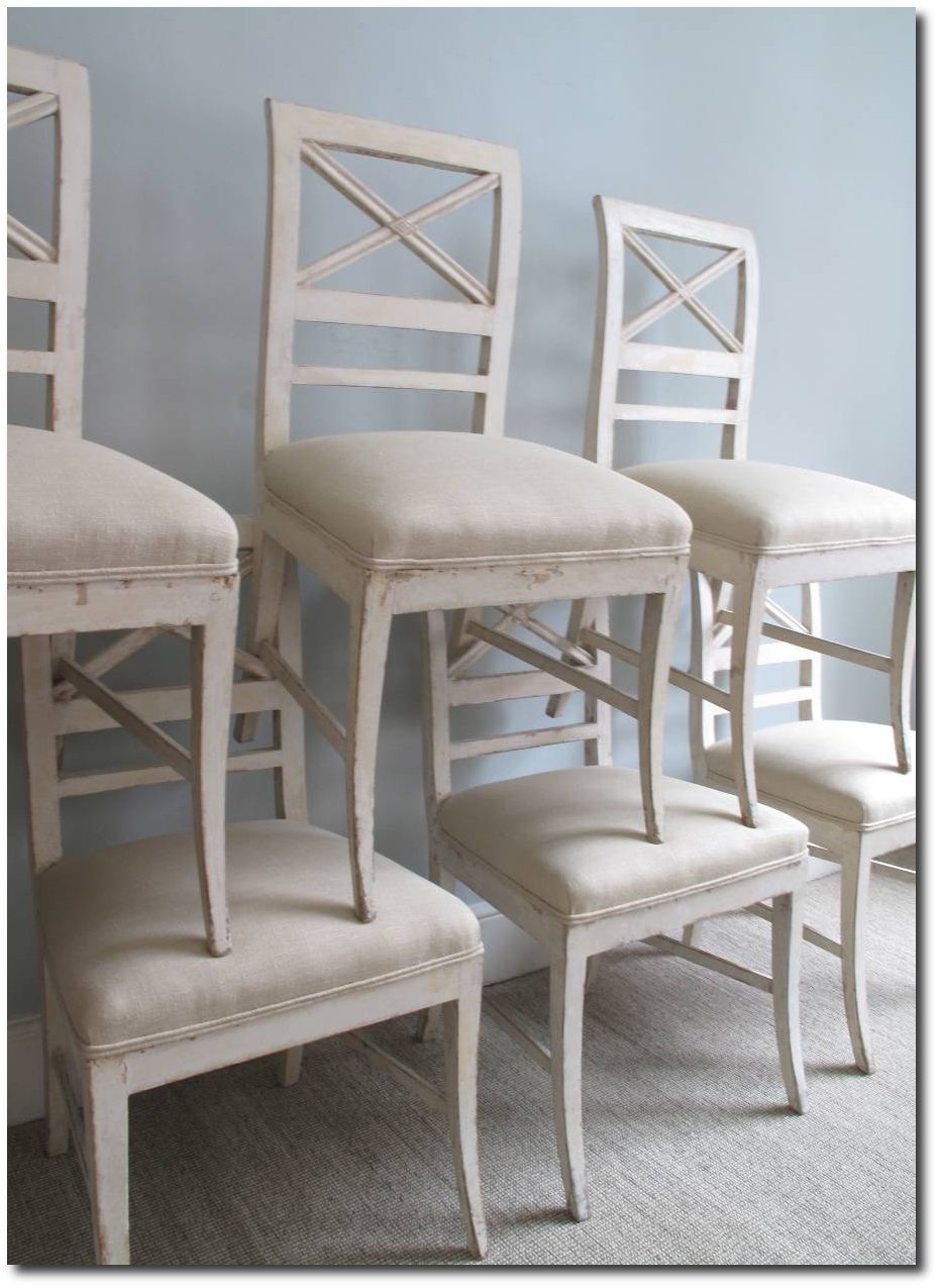 gustavian klismos chairs lief gustavian pearl dining table