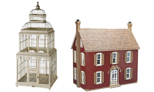 Antique Looking Doll Houses