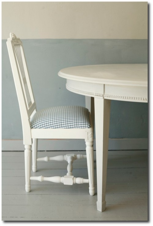 Swedish Gustavian Dining Chairs