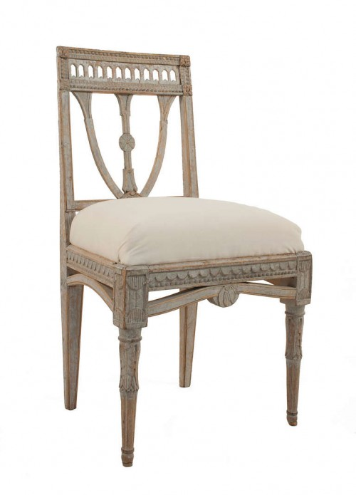 Gustavian Side Chair