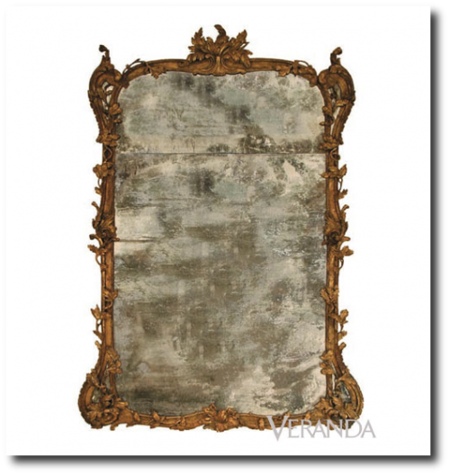 This Heroic Scaled Mirror Is An Exact Reproduction Of An 18th Century  Original Antique Belonging To The Owners Of Dennis U0026 Leen. The Elaborate  Carvings And ...