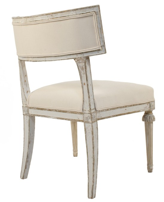 Pair Of Gustavian Klismos Chairs