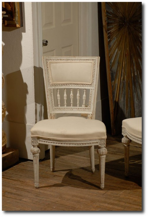 Period Gustavian Side Chairs