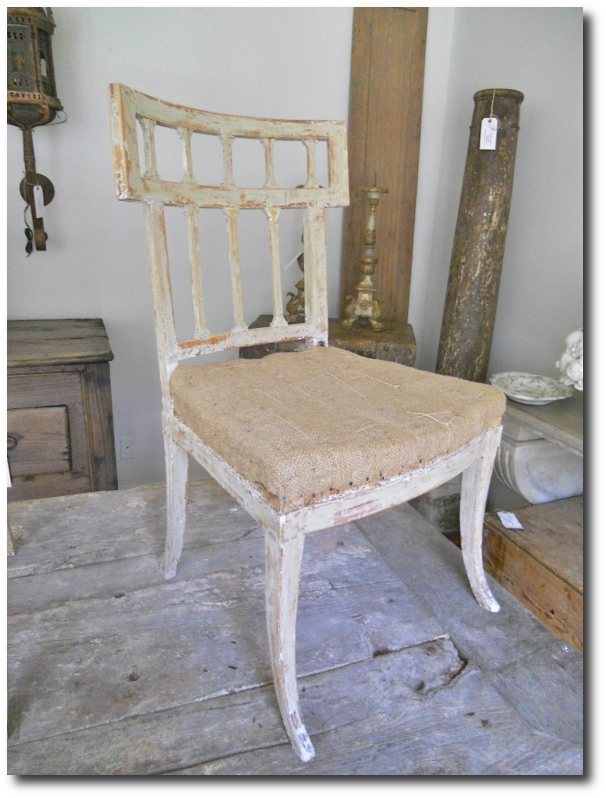 Set Of Six 19th. Century Gustavian Chairs