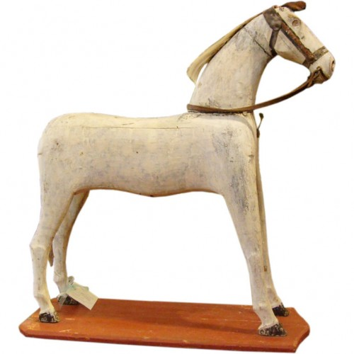 Toy Wood Horse -Pat Monroe Antiques